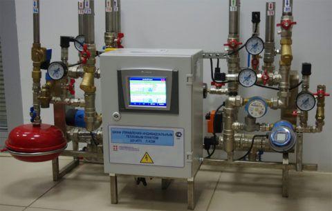Контрольно-измерительная аппаратура теплового пункта