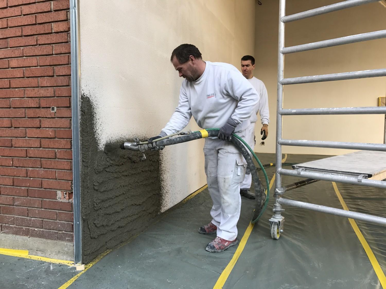 технология монтажа мокрого фасада